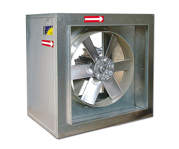 Axial Fan Systems : Smoke exhaust fans mercor